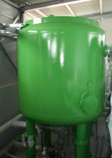 Notranjost naprave za pripravo pitne vode Grmov vrh
